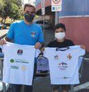 ONED inicia a entrega de camisetas do Esporte Cidadão